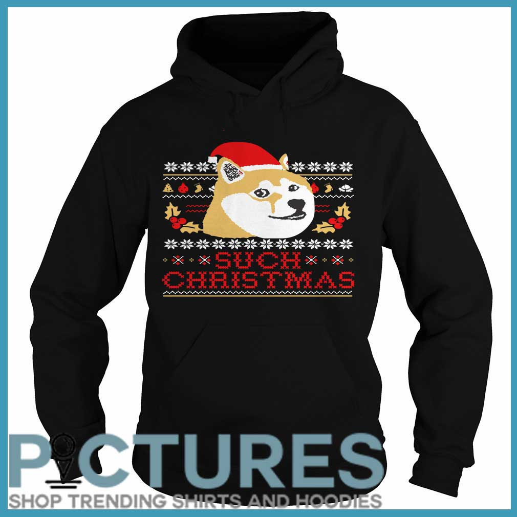 Shiba Inu Such Christmas Hoodie