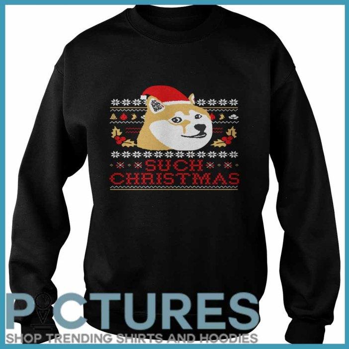 Shiba Inu Such Christmas Sweater