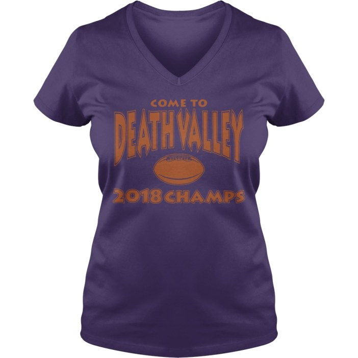 Come to death valley 2018 champs v-neck