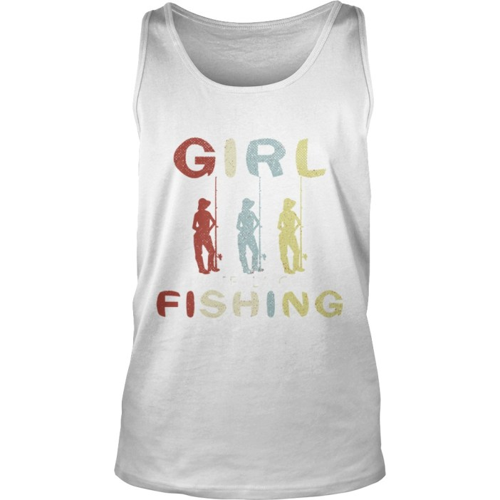 Once upon a time there was a girl who really loved fishing it was me the end tank top