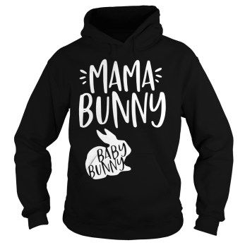 Mama Bunny Baby Bunny hoodie