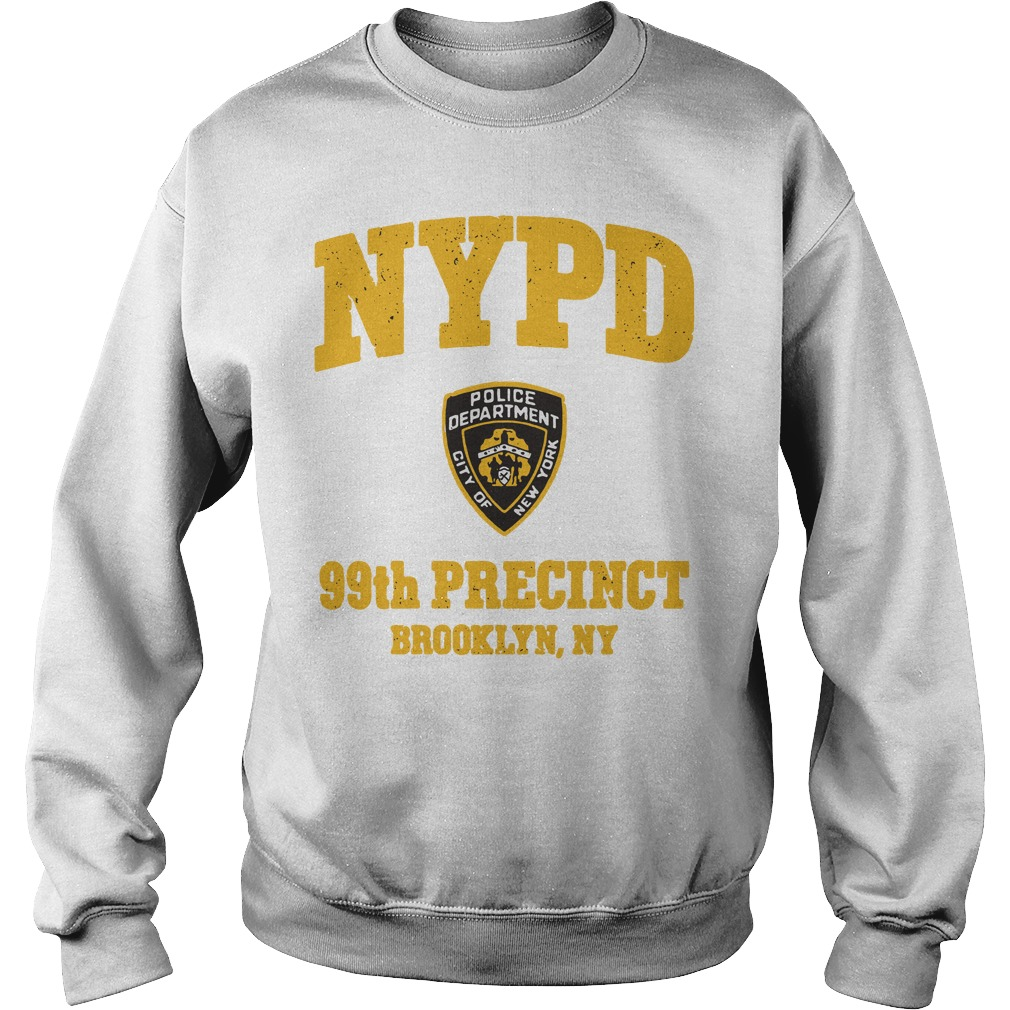 NYPD police department city of New York 99th precinct Brooklyn NY sweater