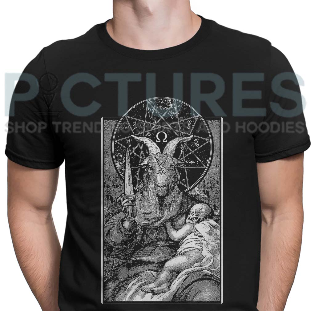 Occult Baphomet shirt