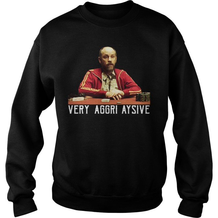 Rounders Teddy KGB Very Aggri-Aysive sweater