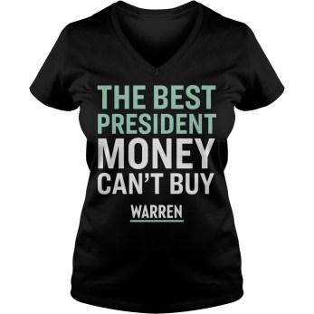 The best president money can't buy Warren v-neck