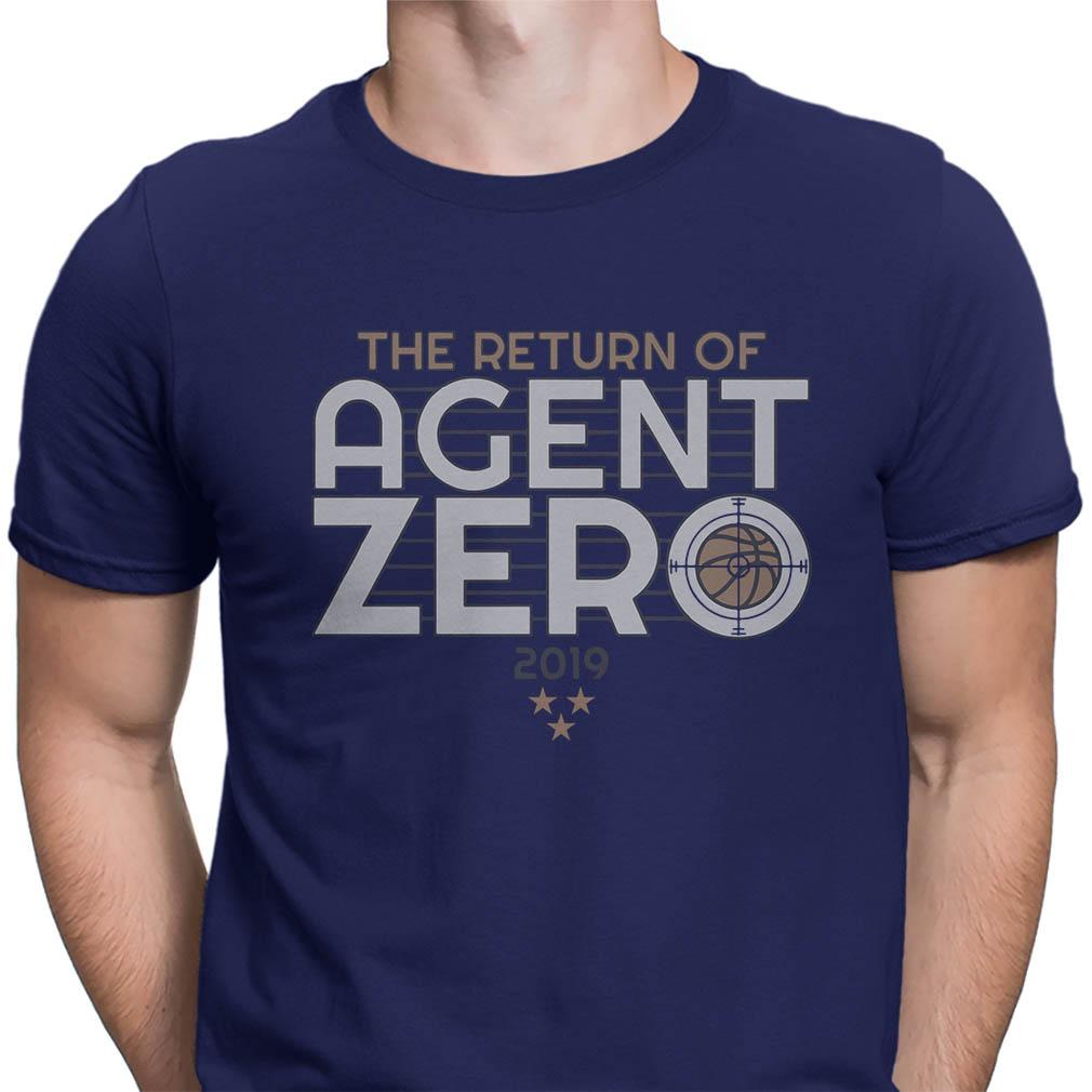 The return of Agent Zero 2019 shirt
