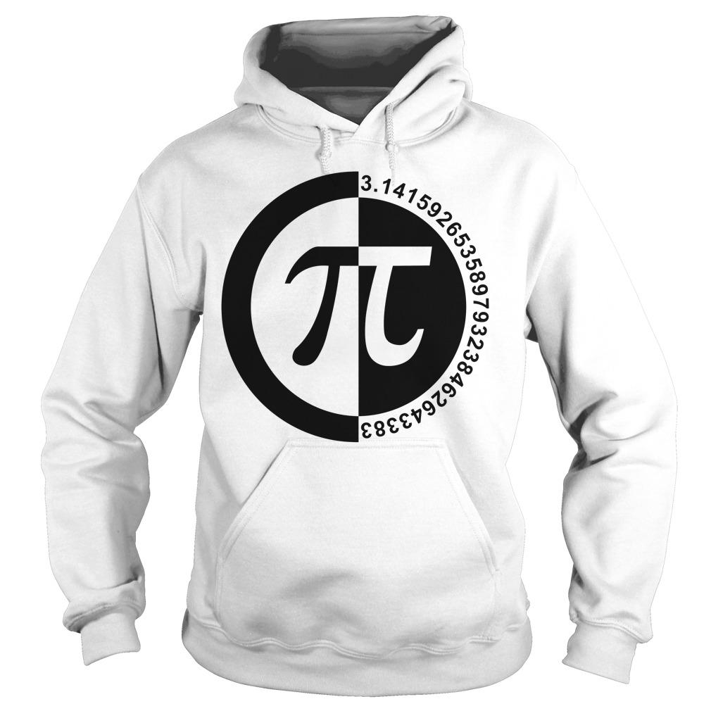 Pi Day number hoodie