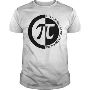 Pi Day number shirt