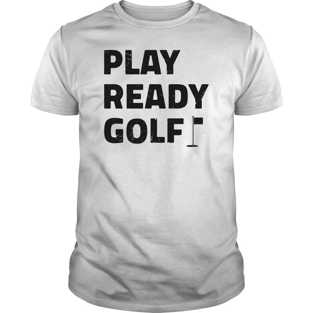 Play ready golf guys tee