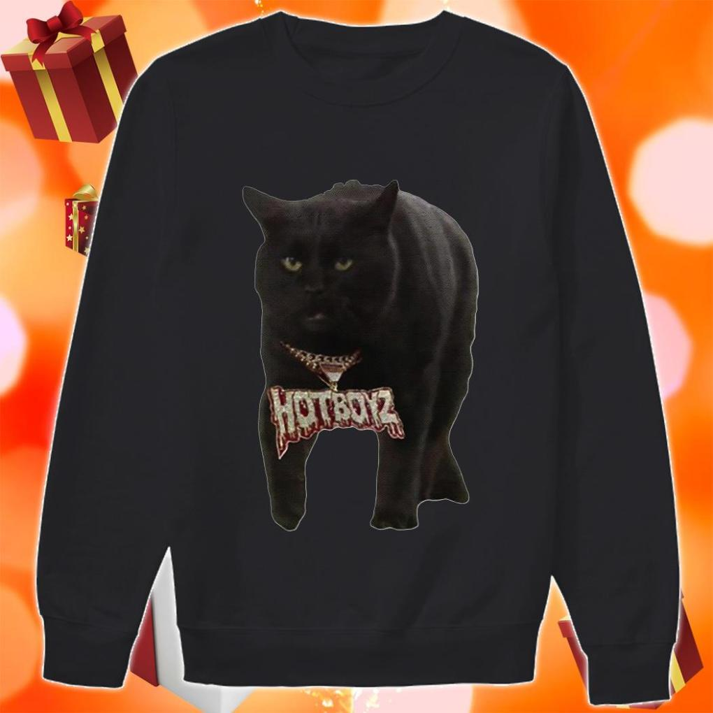 Black Cat Hot Boyz sweater