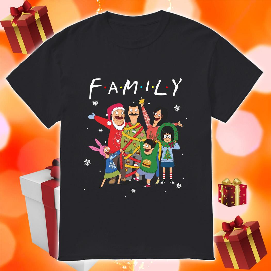 Bob's Burgers Family Merry Christmas shirt
