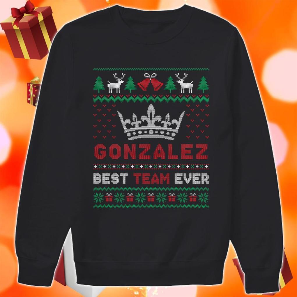 Gonzalez best team ever Ugly Christmas Sweater