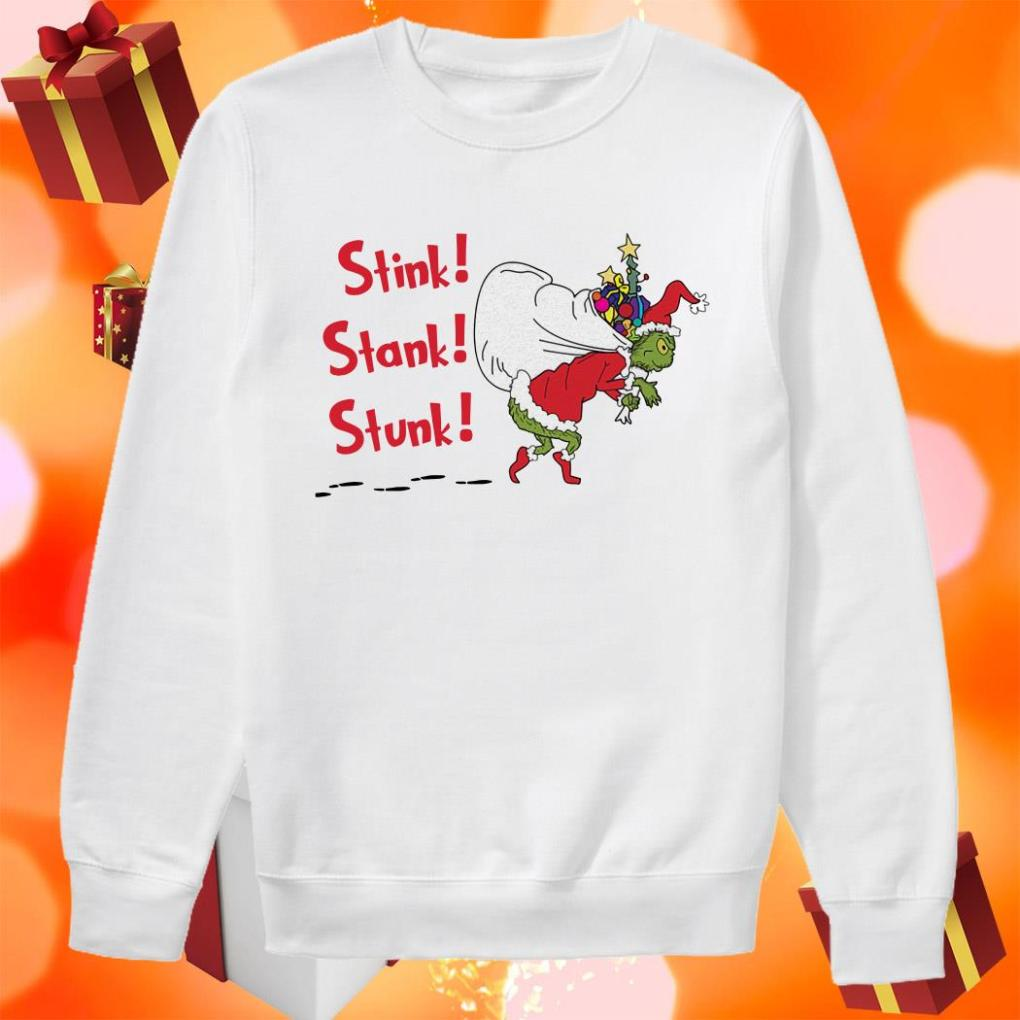 Grinch Gift Christmas Stink Stank Stunk sweater