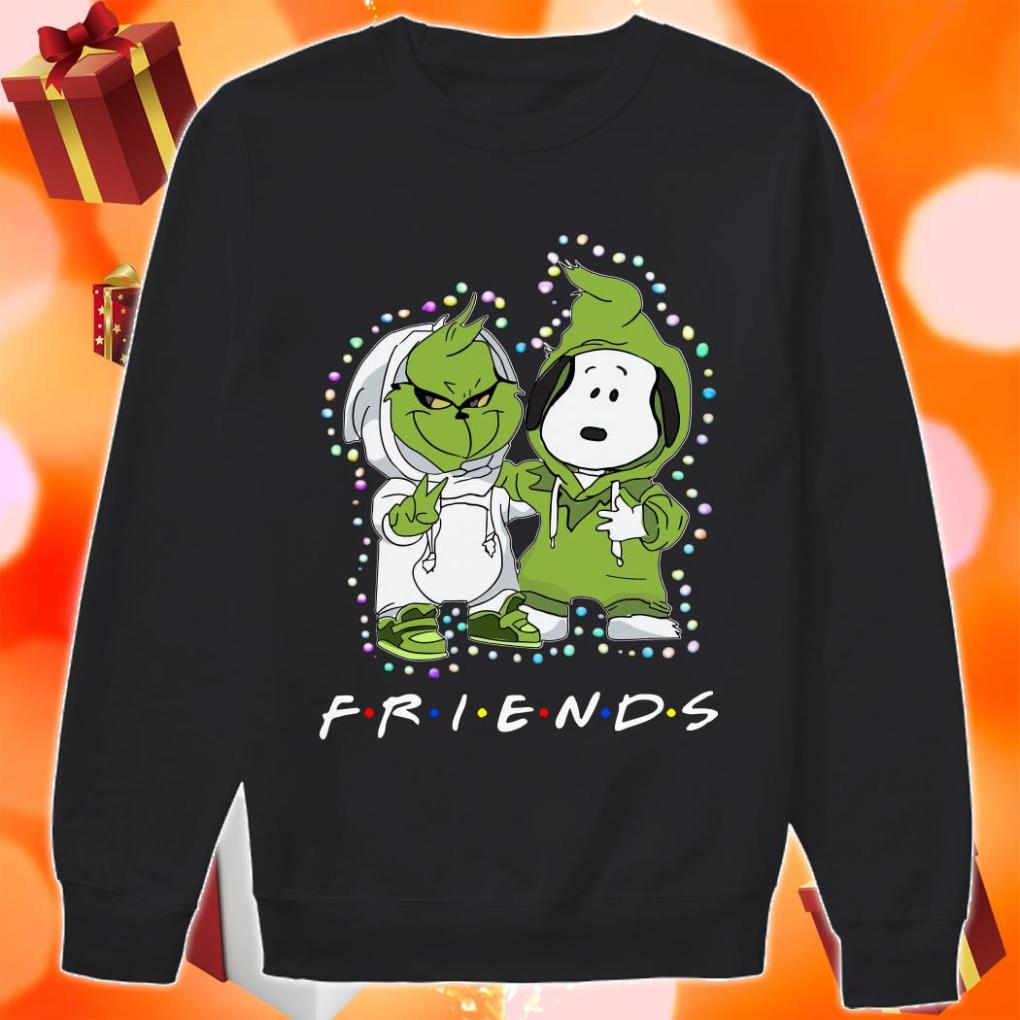 Grinch and Snoopy Friends Christmas sweater