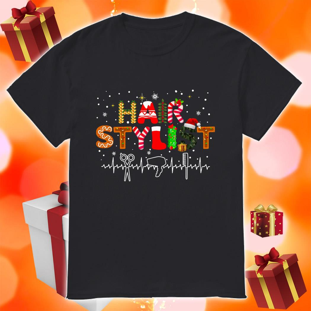 Hair Stylist Christmas shirt
