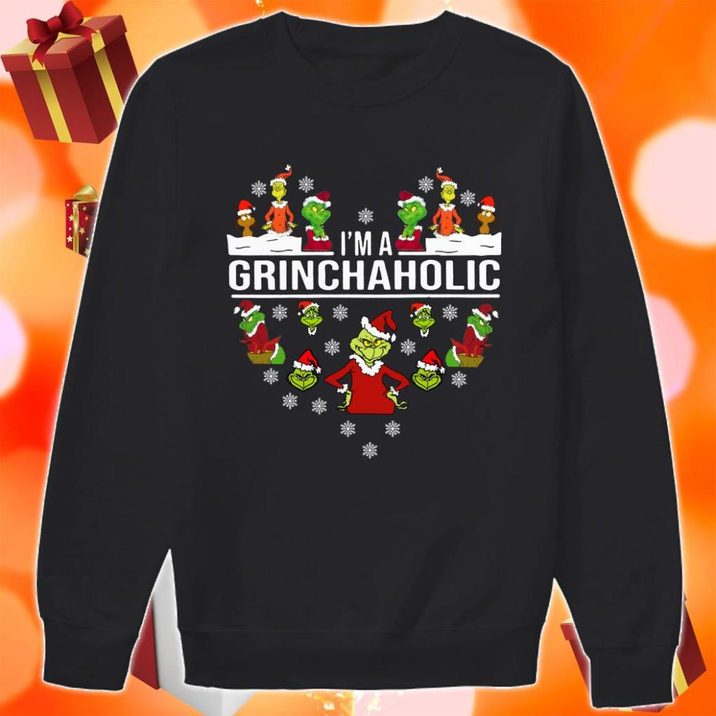 I'm a Grinch aholic Christmas sweater