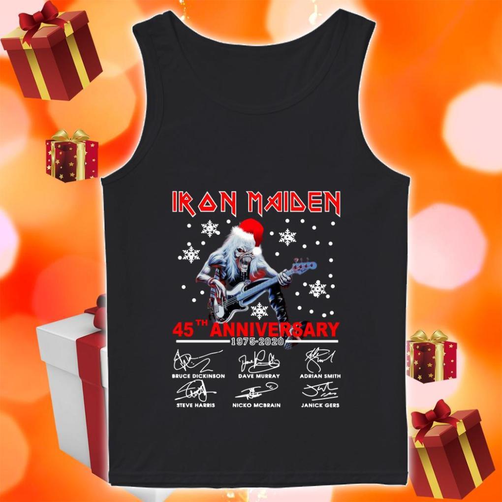 Iron Maiden 45th anniversary 1975 2020 tank top