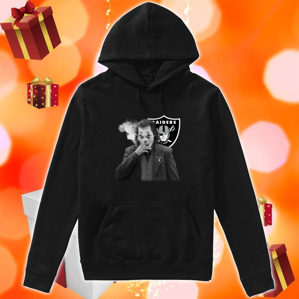Joker Joaquin Phoenix Raiders hoodie