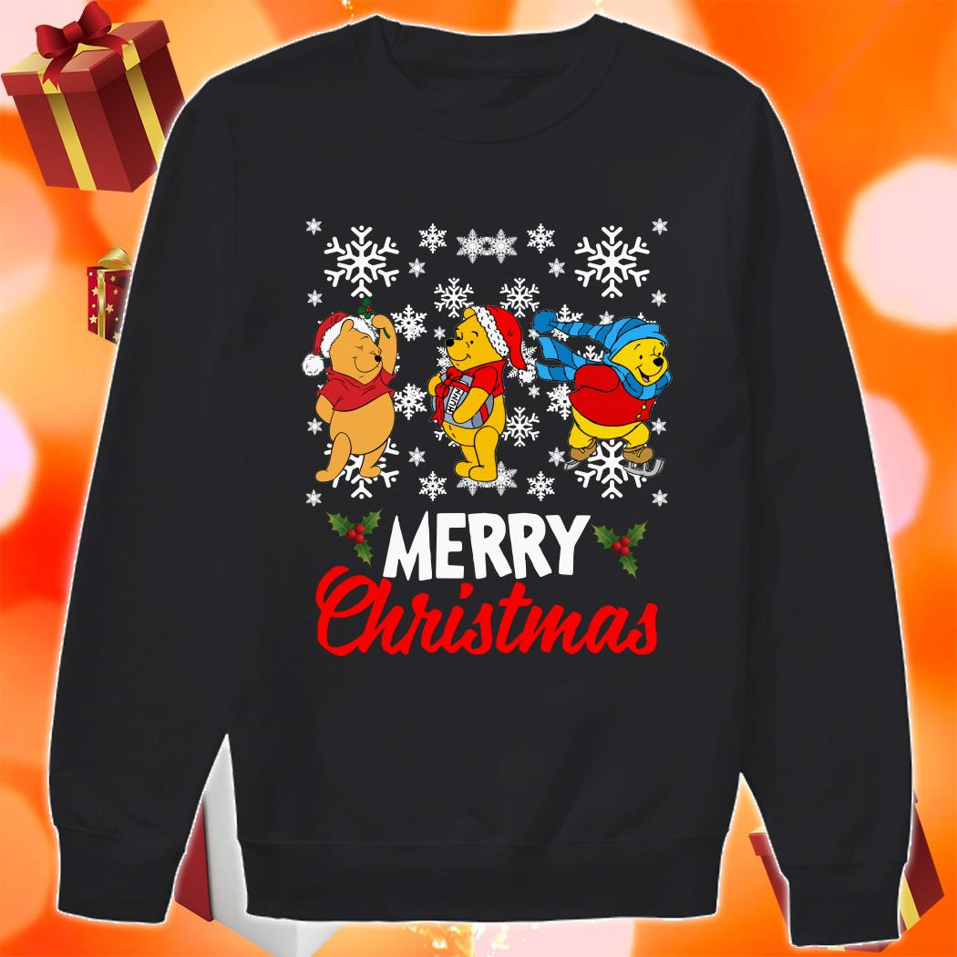 Pooh Merry Christmas sweater