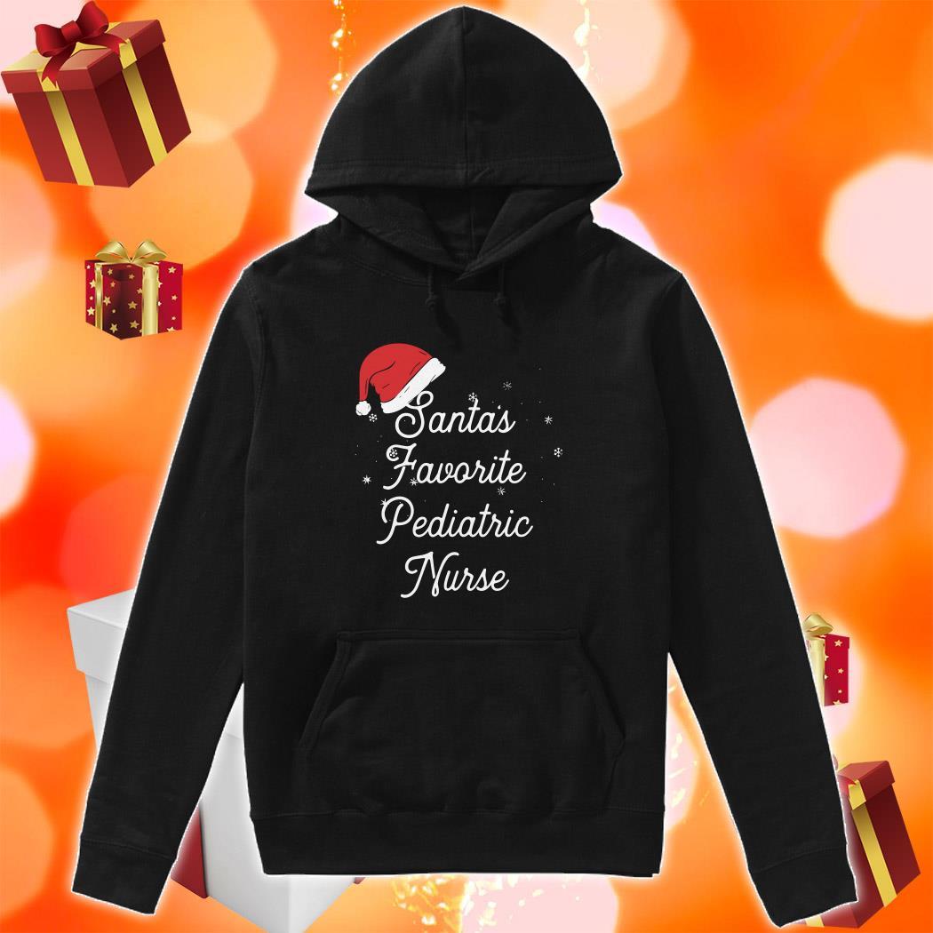 Santa's favorite pediatric nurse hoodie