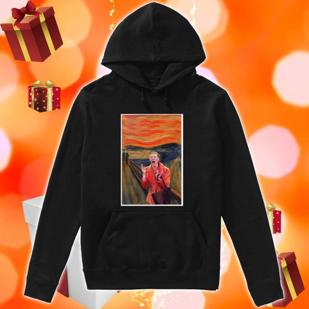 The Scream Phoebe Buffay Friends TV Show hoodie