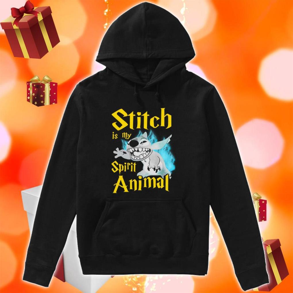 Stitch is my Spirit animal Harry Potter hoodie