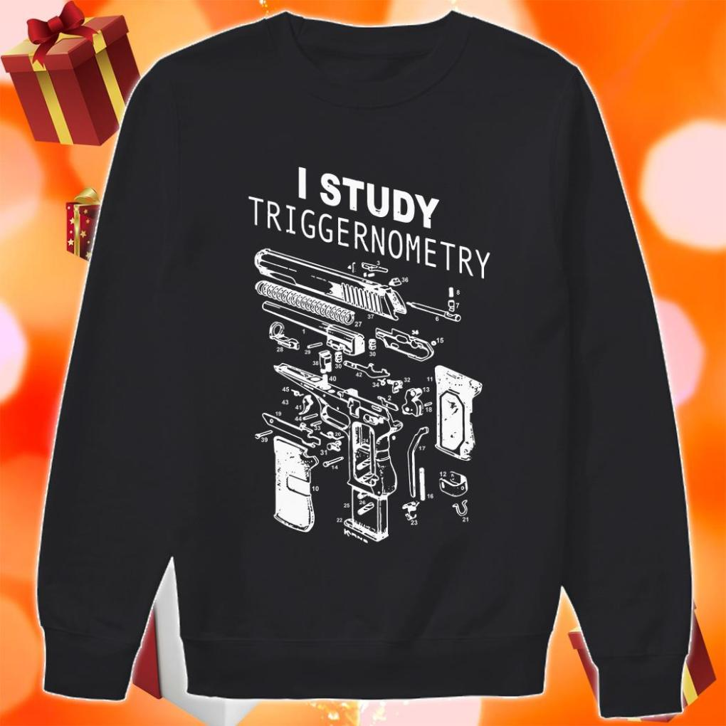 I study triggernometry sweater