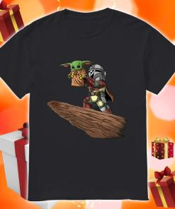 Baby Yoda and Boba Fett shirt