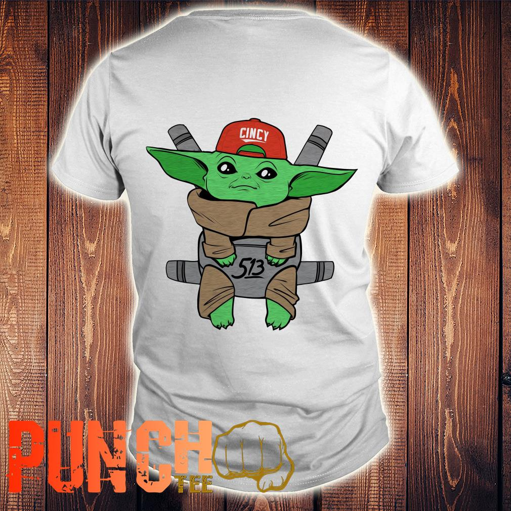 Baby Yoda Star War Carrier Shirt