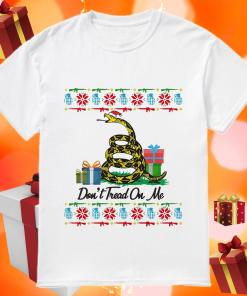 Don't Tread On Me Ugly Christmas shirt