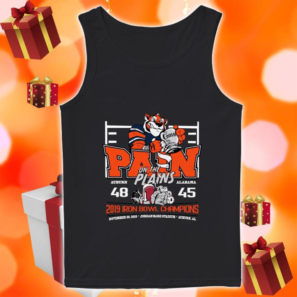 Iron Bowl Champions 2019 Auburn Tigers Pain on the plains shirt 1 Picturestees Clothing - T Shirt Printing on Demand