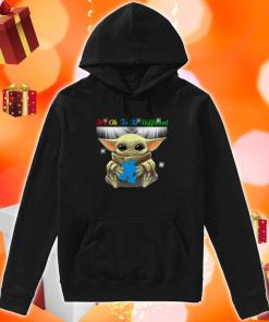 It's Ok To Be Different Autism Awareness Baby Yoda hoodie