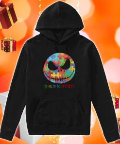 Jack Skellington It's ok to be different hoodie