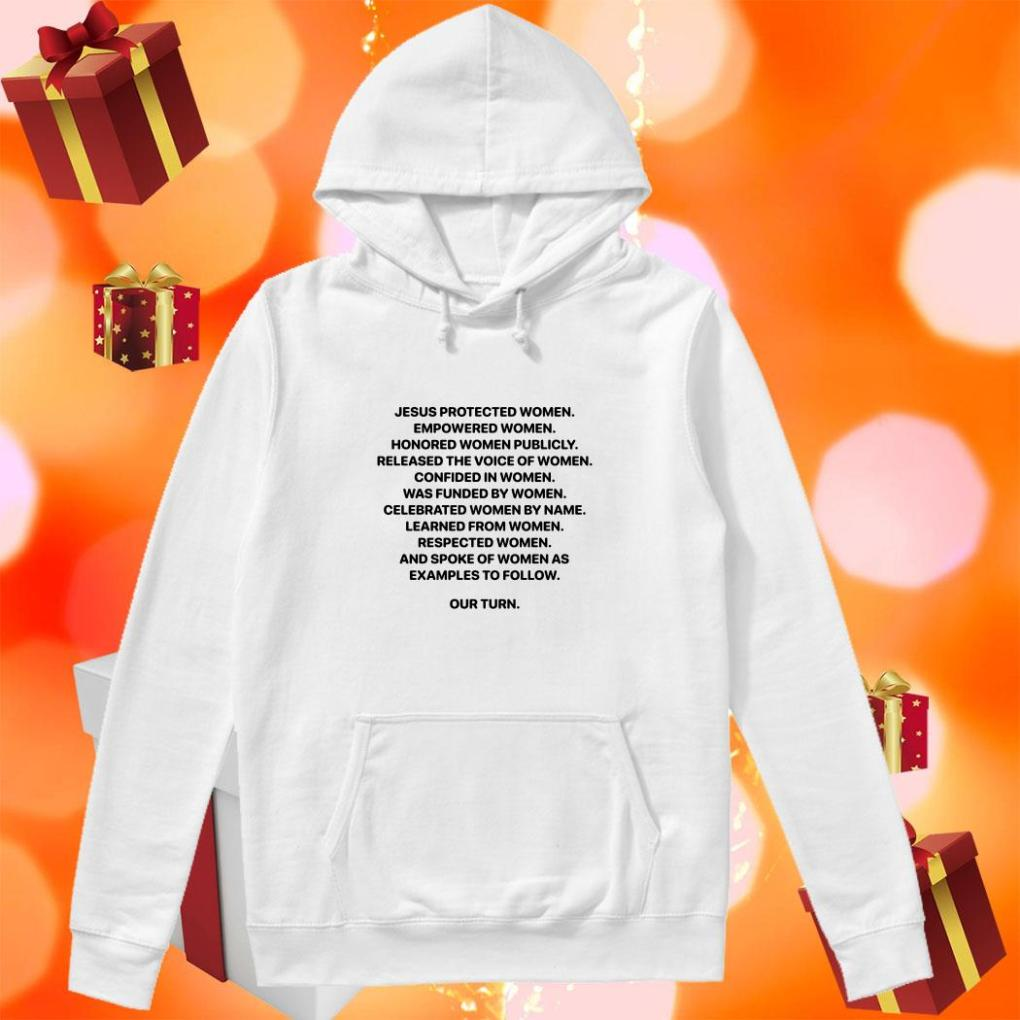 Jesus Protected Women Empowered Women hoodie