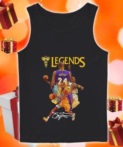 Kobe Bryant 24 Los Angeles Lakers Legends signature tank top
