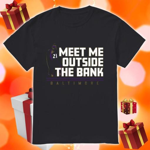 Mark Ingram Meet me Outside the Bank shirt