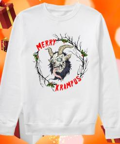 Merry Krampus Merry Christmas sweater