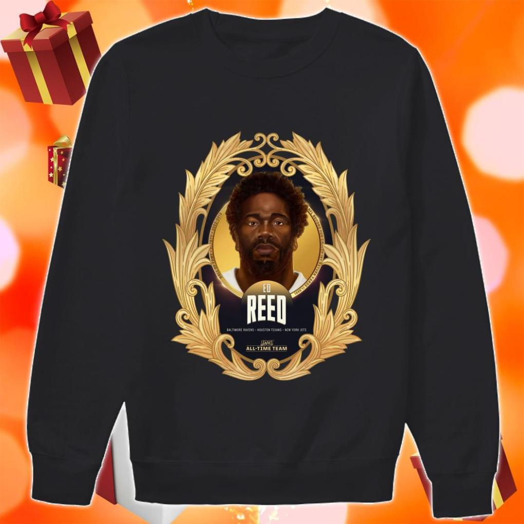 NFL 100 All-Time Team Ed Reed sweater
