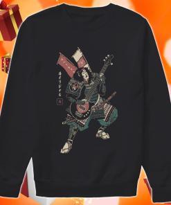 Samurai guitarist sweater