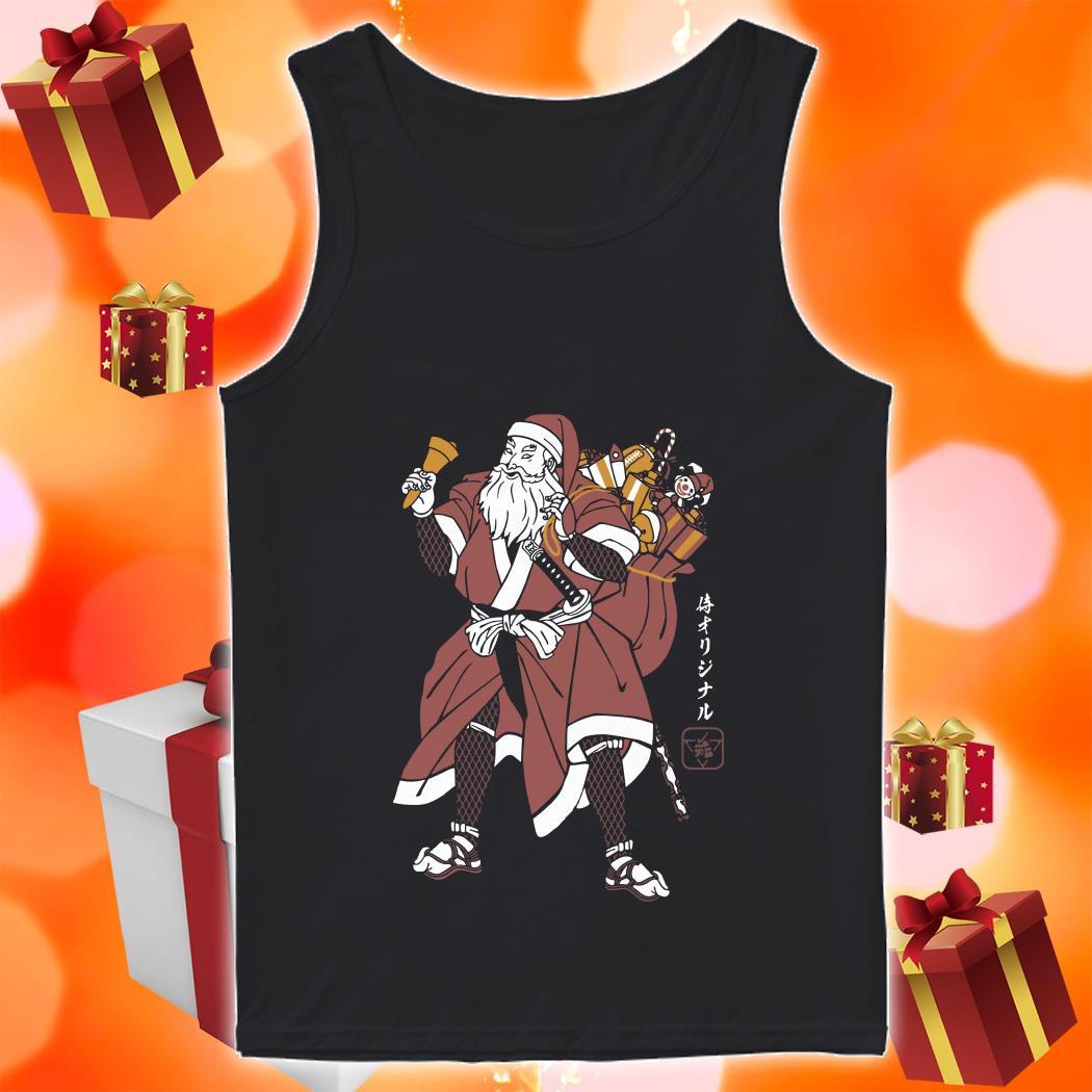 SANTA SAMURAI shirt 1 Picturestees Clothing - T Shirt Printing on Demand