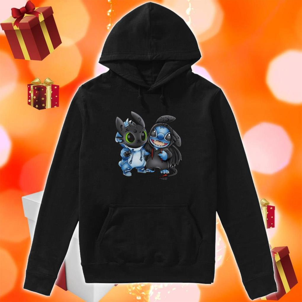 Toothless and Stitch hoodie