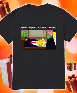 TRUMP SIMPSONS Make America Great again shirt