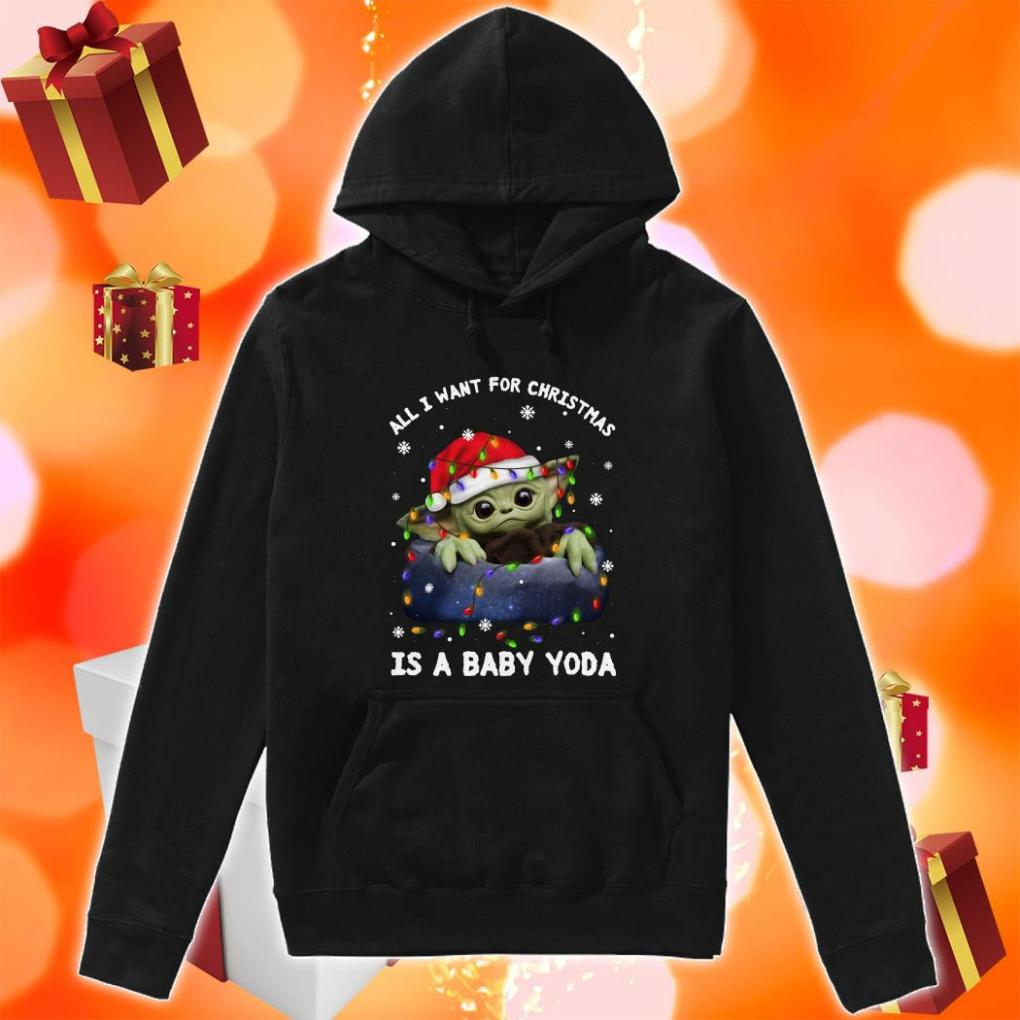 All I want for Christmas is a baby Yoda hoodie