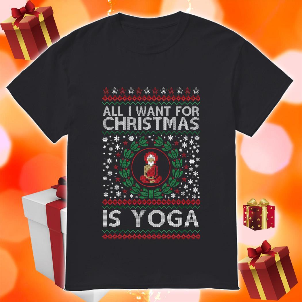 All I want for Christmas is yoga shirt