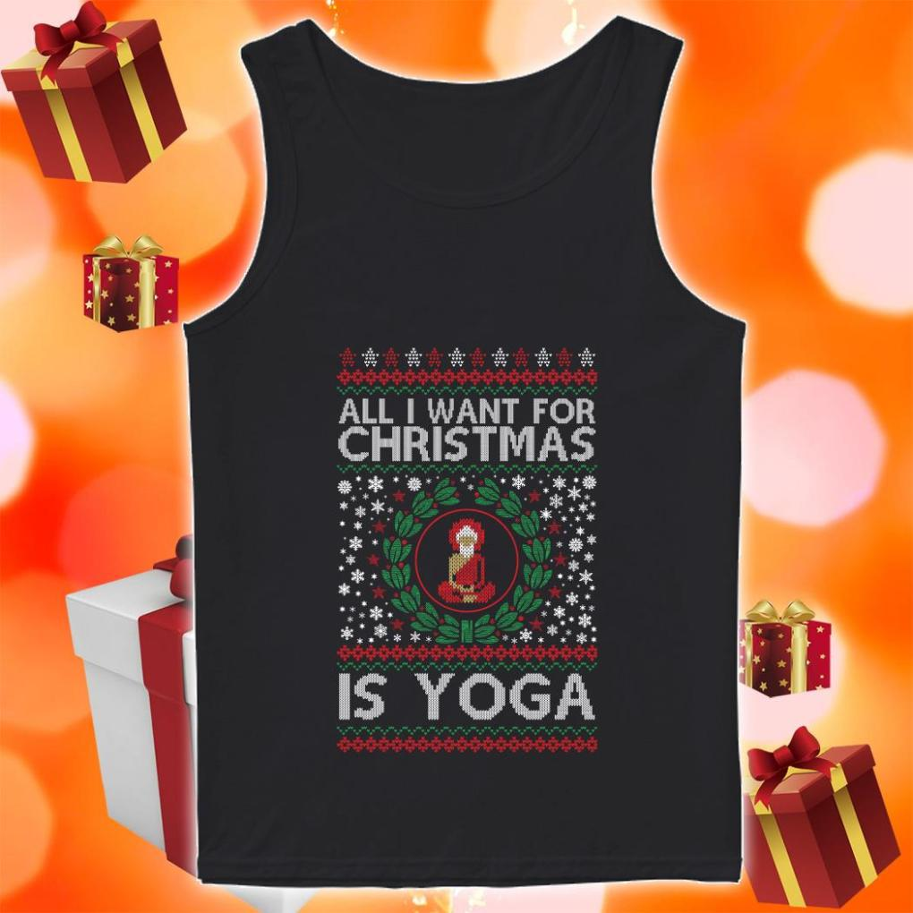 All I want for Christmas is yoga tank top