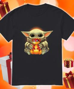 Baby Yoda hug Dragon shirt