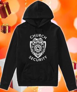 Church Security deacon headshots for Jesus hoodie