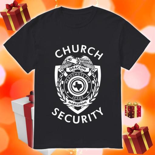 Church Security deacon headshots for Jesus shirt
