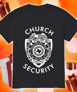 Church Security deacon headshots for Jesus shirt