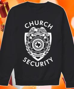 Church Security deacon headshots for Jesus sweater